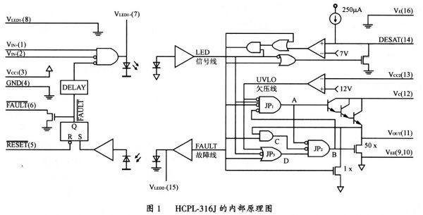 igbt高压大功率驱动和保护电路的设计方案